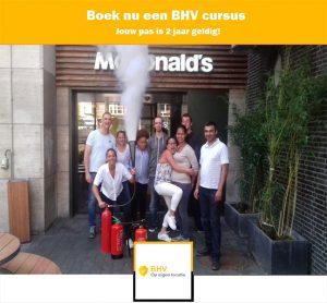 BHV incompany mcdonalds